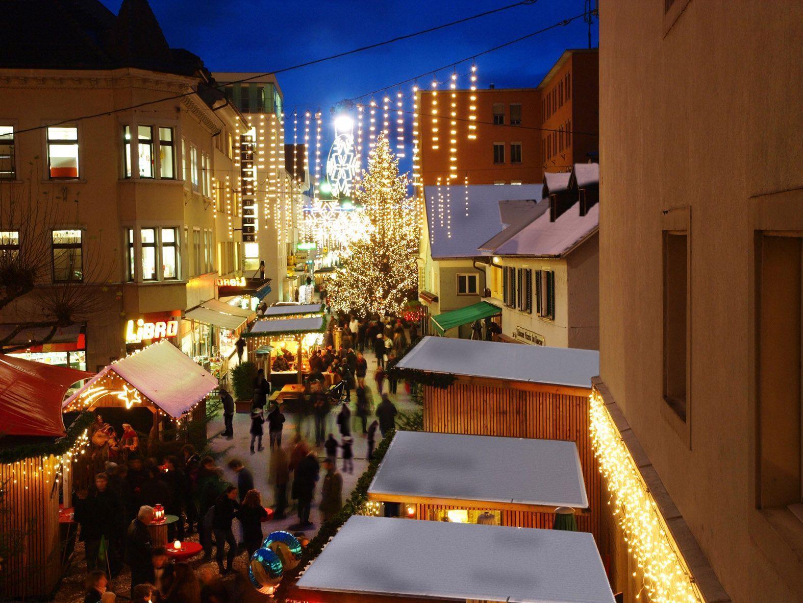 Bregenzer Weihnachtszauber wird am Freitag feierlich eröffnet.