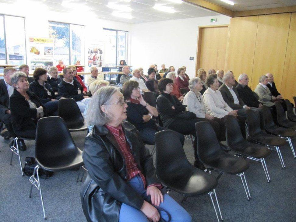 Interessante Informationen gab es für Senioren im Bregenzer Rot-Kreuz-Haus.