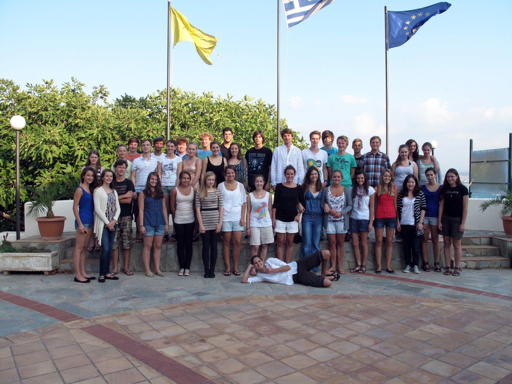 Das Jugendsinfonieorchester Dornbirn machte eine Konzertreise nach Kreta.