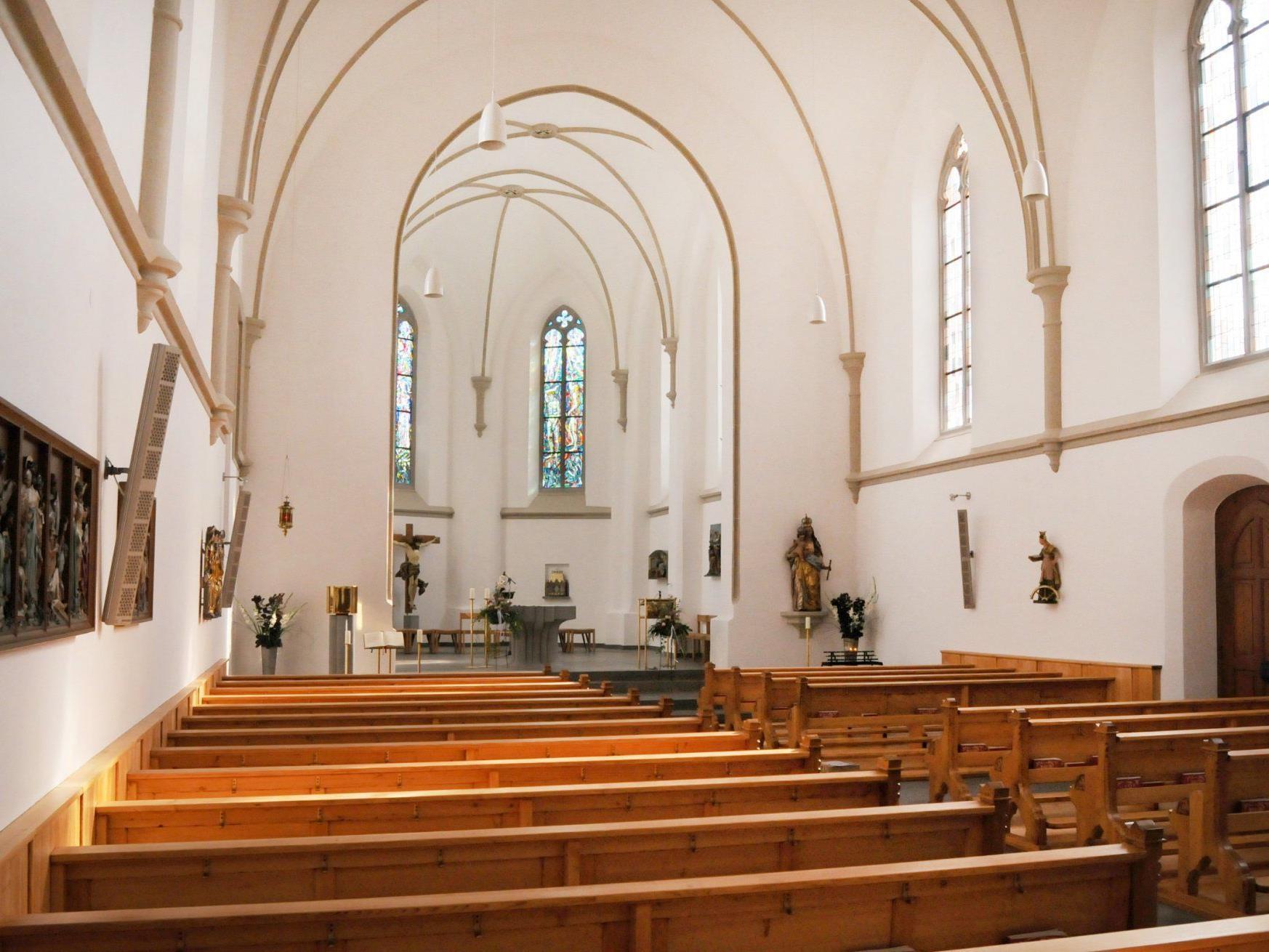 Am Sonntag, den 13. November, wird die renovierte Gaißauer Kirche gesegnet.