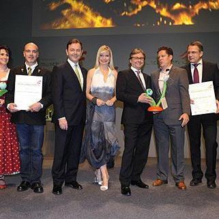 Die Preisträger und Preisträgerinnen beim Österreichischen Klimaschutzpreis 2011