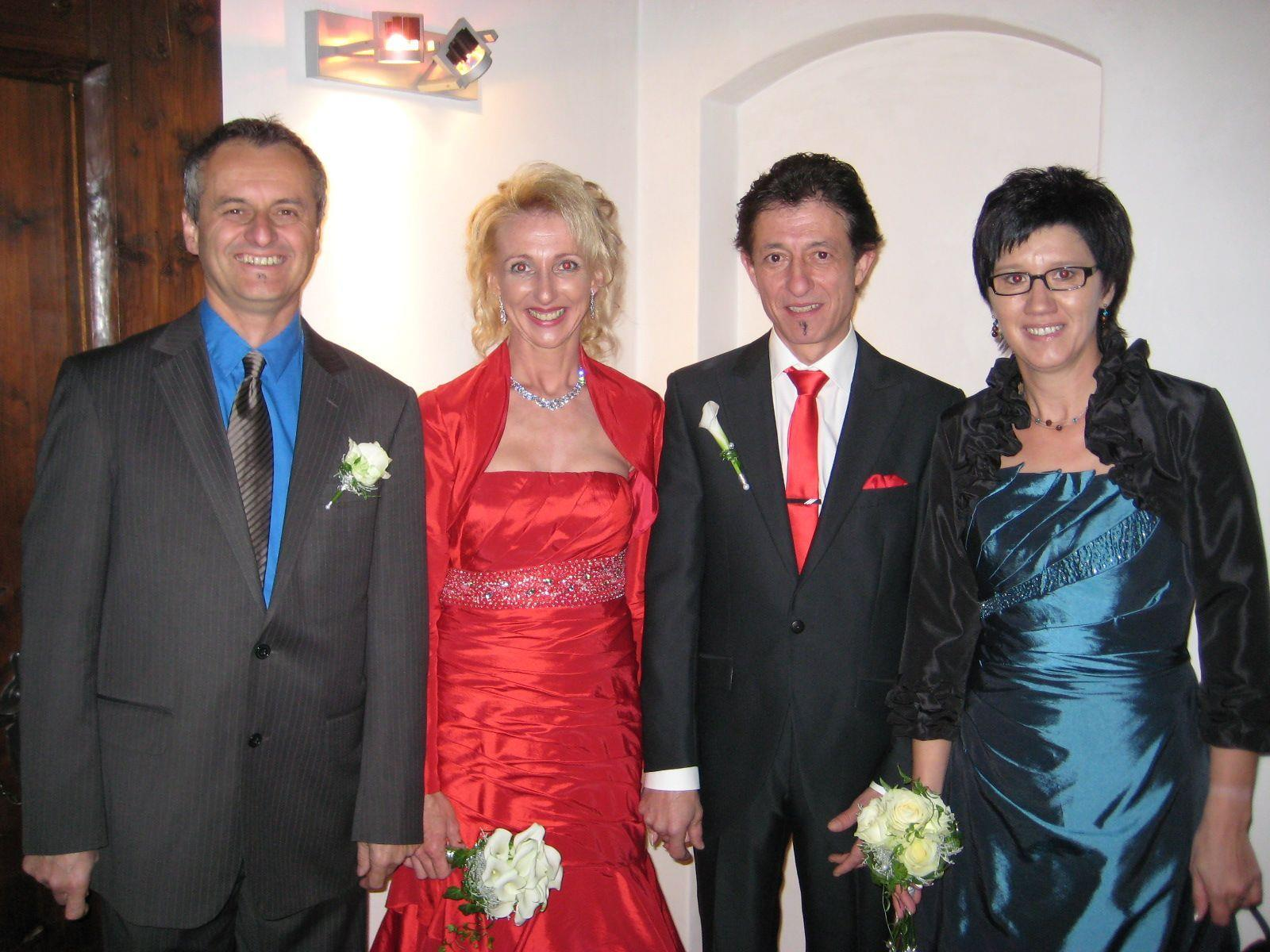 Elisabeth Koch und Günter Hämmerle heirateten.