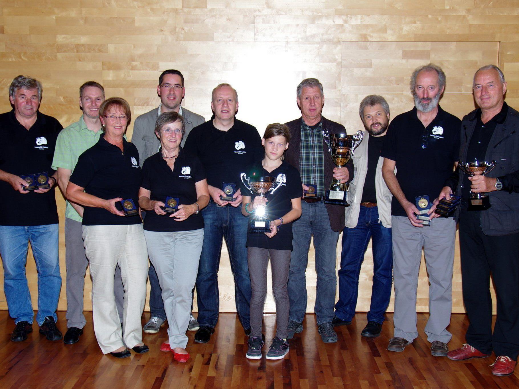 Fotoclub ESV Feldkirch gewinnt die Mannschaftswertung.