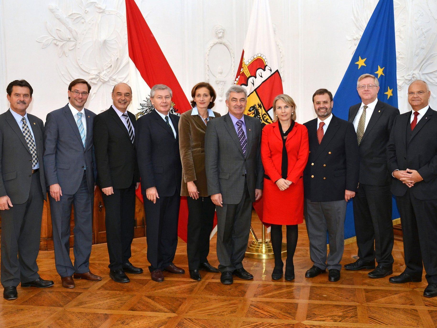 Konferenz der Landtagspräsidentinnen und -präsidenten in Salzburg.