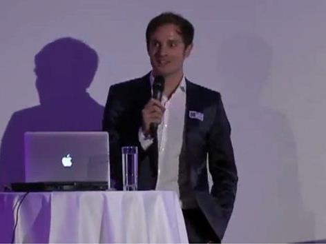 """Gewährte interessante Einblicke ins """"mobile Marketing"""": Matthais Schoditz."""