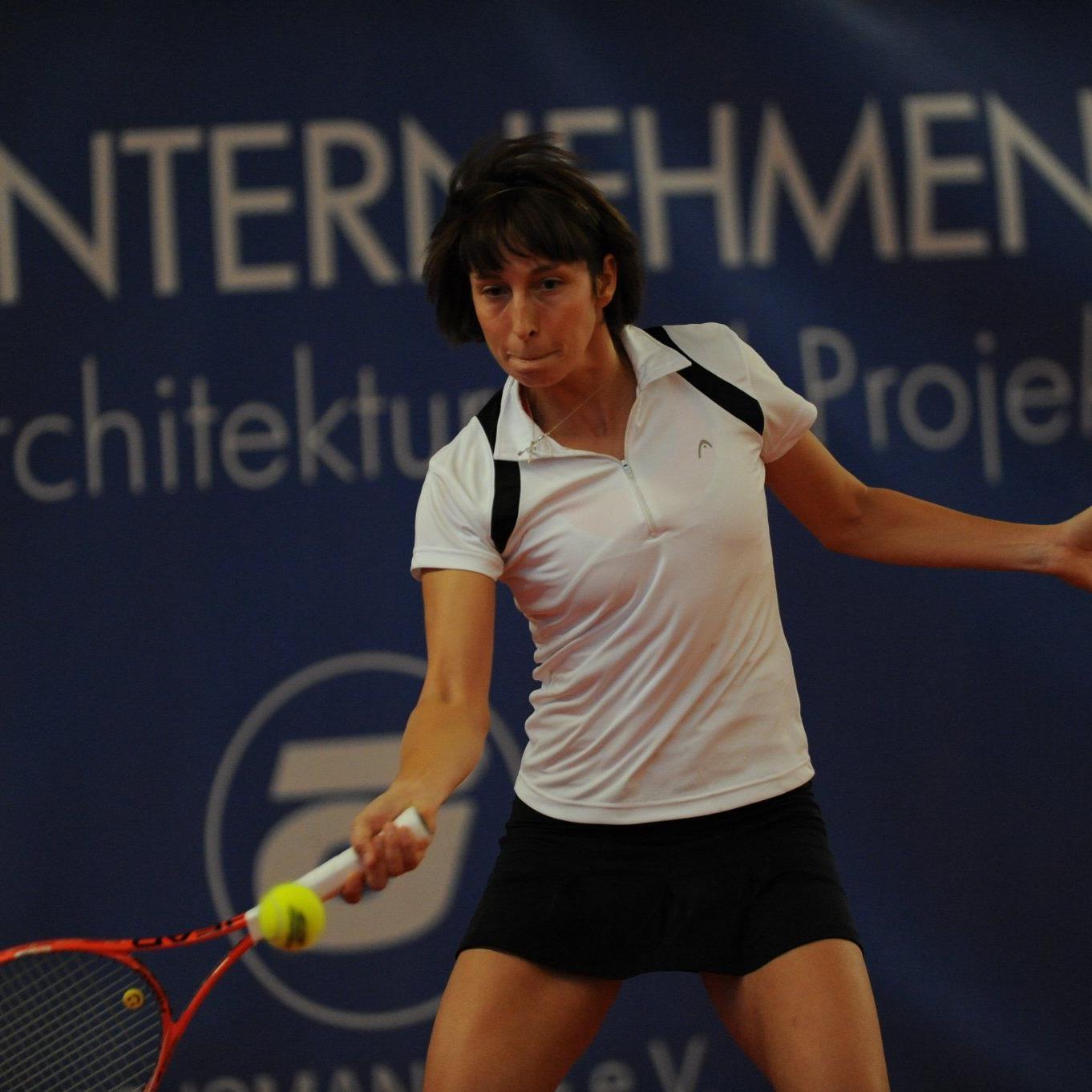 Yvonne Meusburger musste sich erst im Finale geschlagen geben