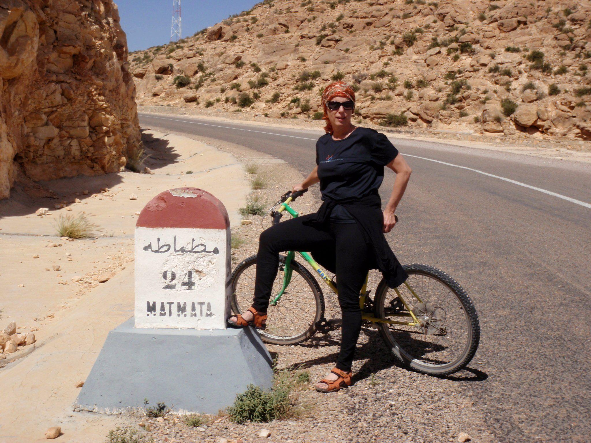 Im März geht es mit Annette Reinbacher wieder per Fahrrad für den Frieden los.