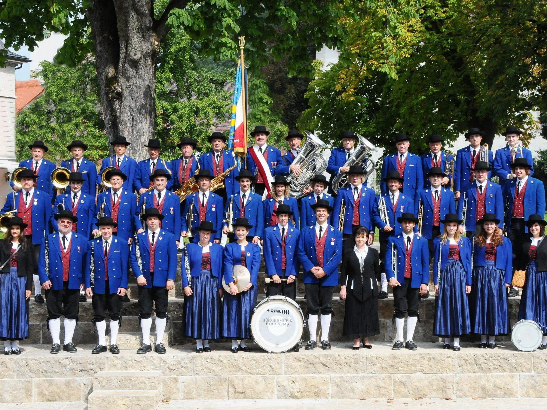 Die Bürgermusik lädt am Wochenende zum Konzert in den Löwensaal.