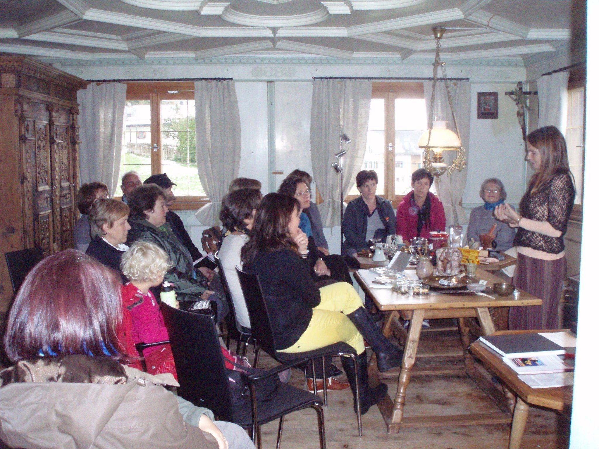 Räucherkurs im Frühmesshaus 2010