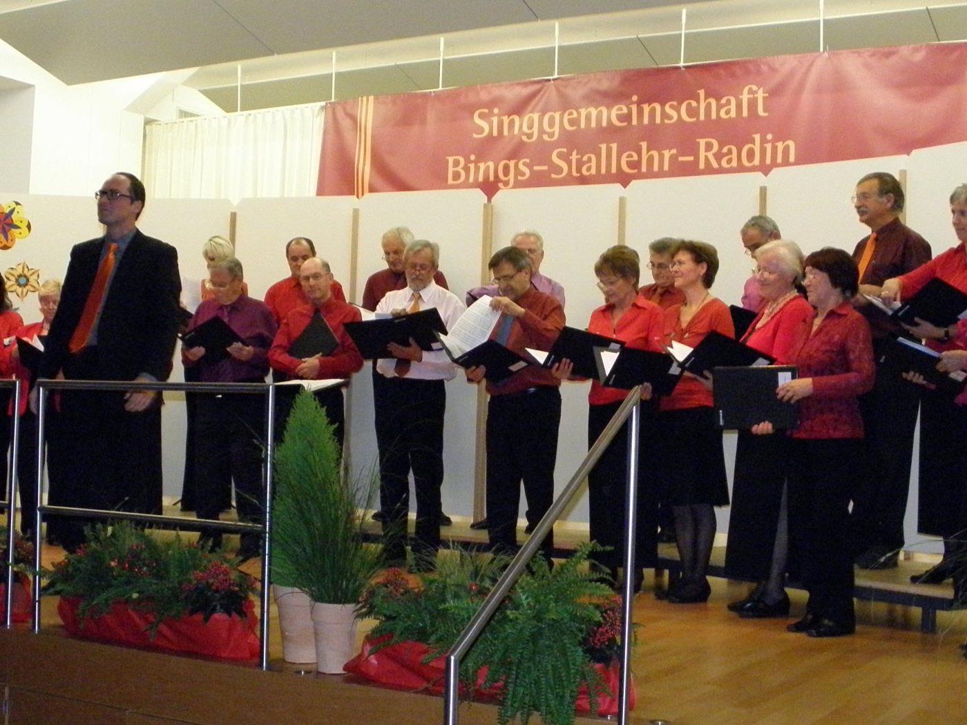 Die Singgemeinschaft präsentierte ein abwechslungsreiches Jubiläumsprogramm