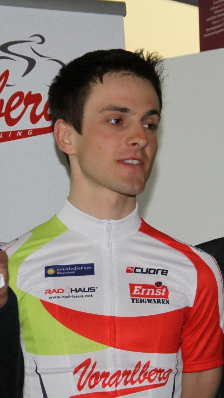 Radass Dominik Brändle (m.) hört auf.