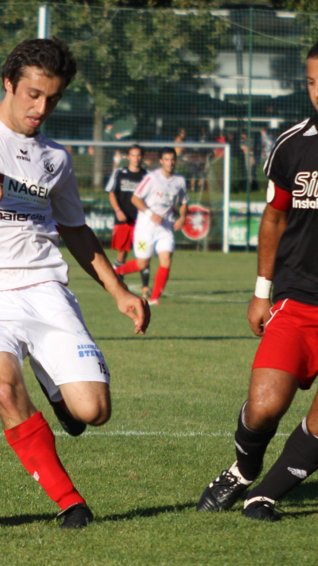 Deniz Erkan schoss das 2:0 für Rankweil.