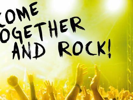 """Unter dem Motto """"Come together and rock"""" findet am 9. Dezember das Benefizkonzert statt"""