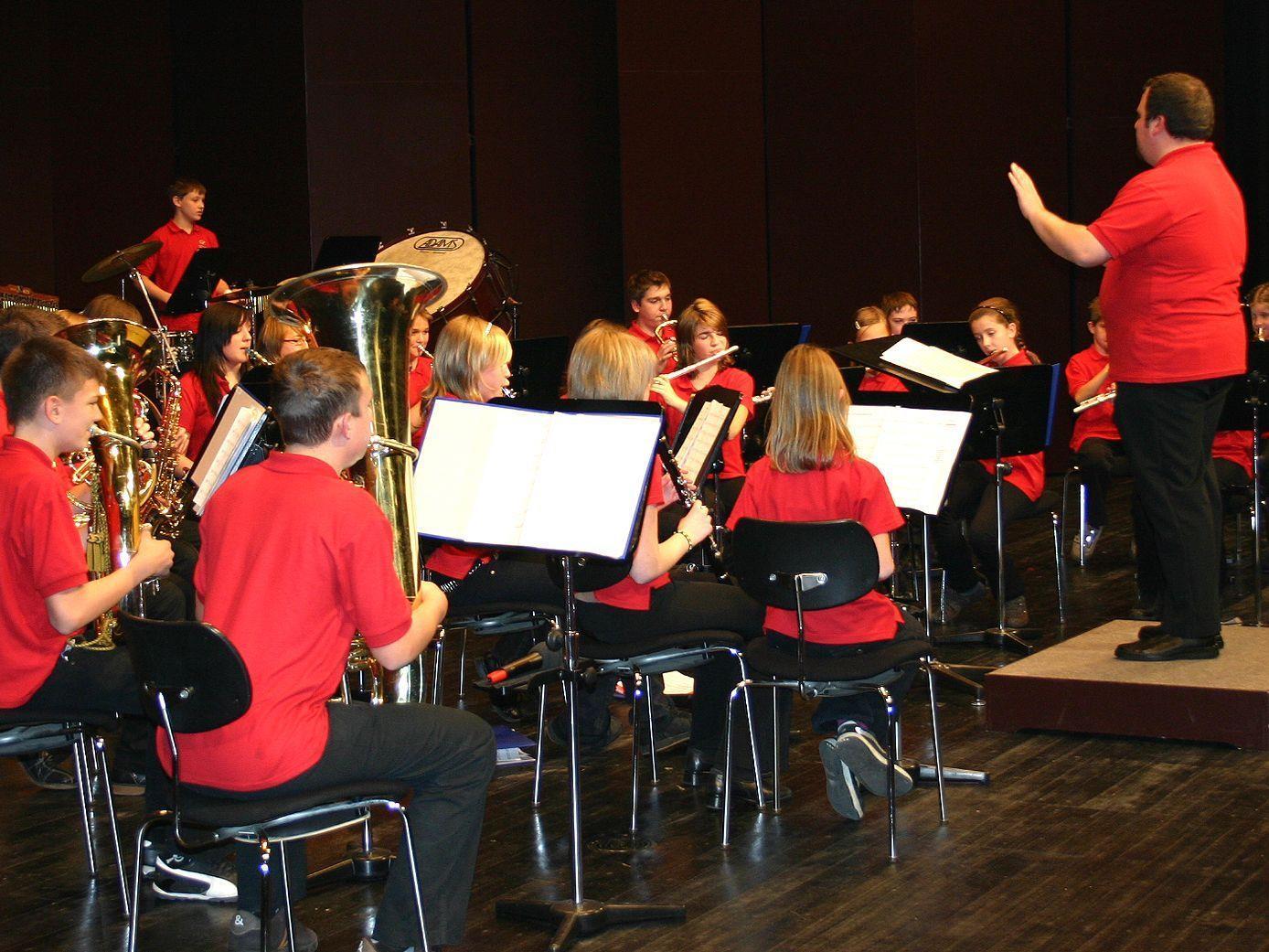 Die Jugendmusik der Stadtkapelle Dornbirn-Haselstauden ist beim Gemeinschaftskonzert dabei.