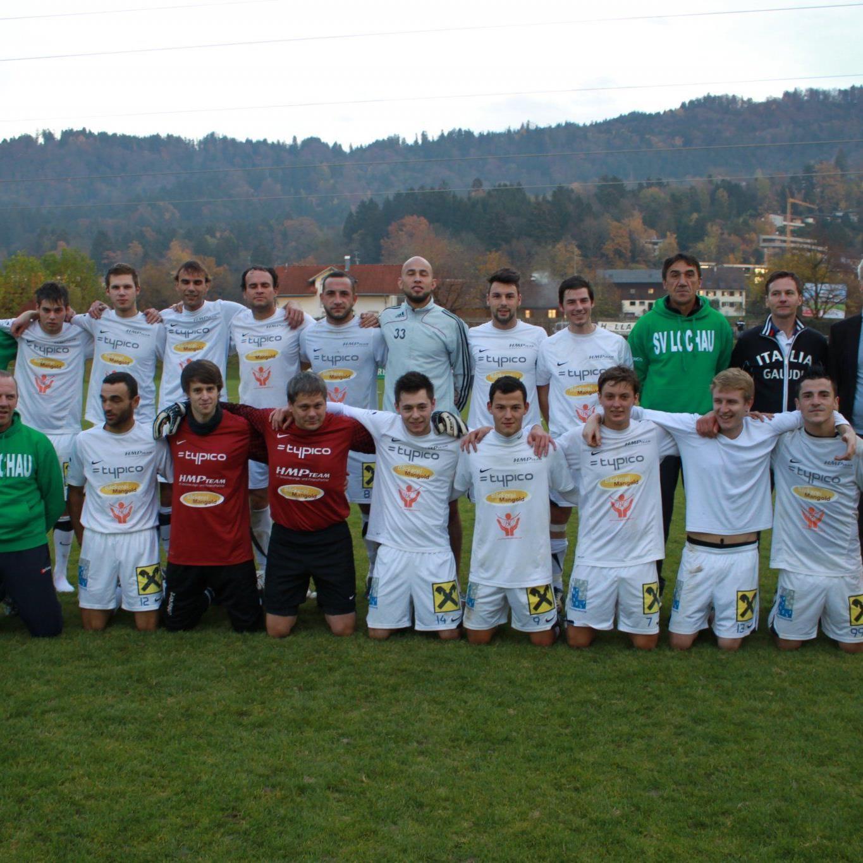 Lochau überwintert in der Landesliga auf Platz eins.