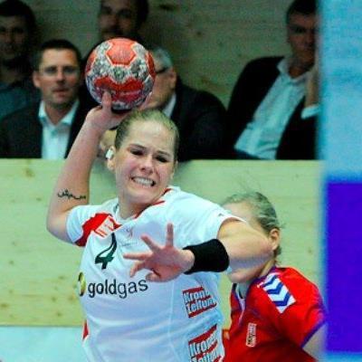 Die Lustenauerin Beate Scheffknecht steuerte acht Treffer zum Erfolg bei