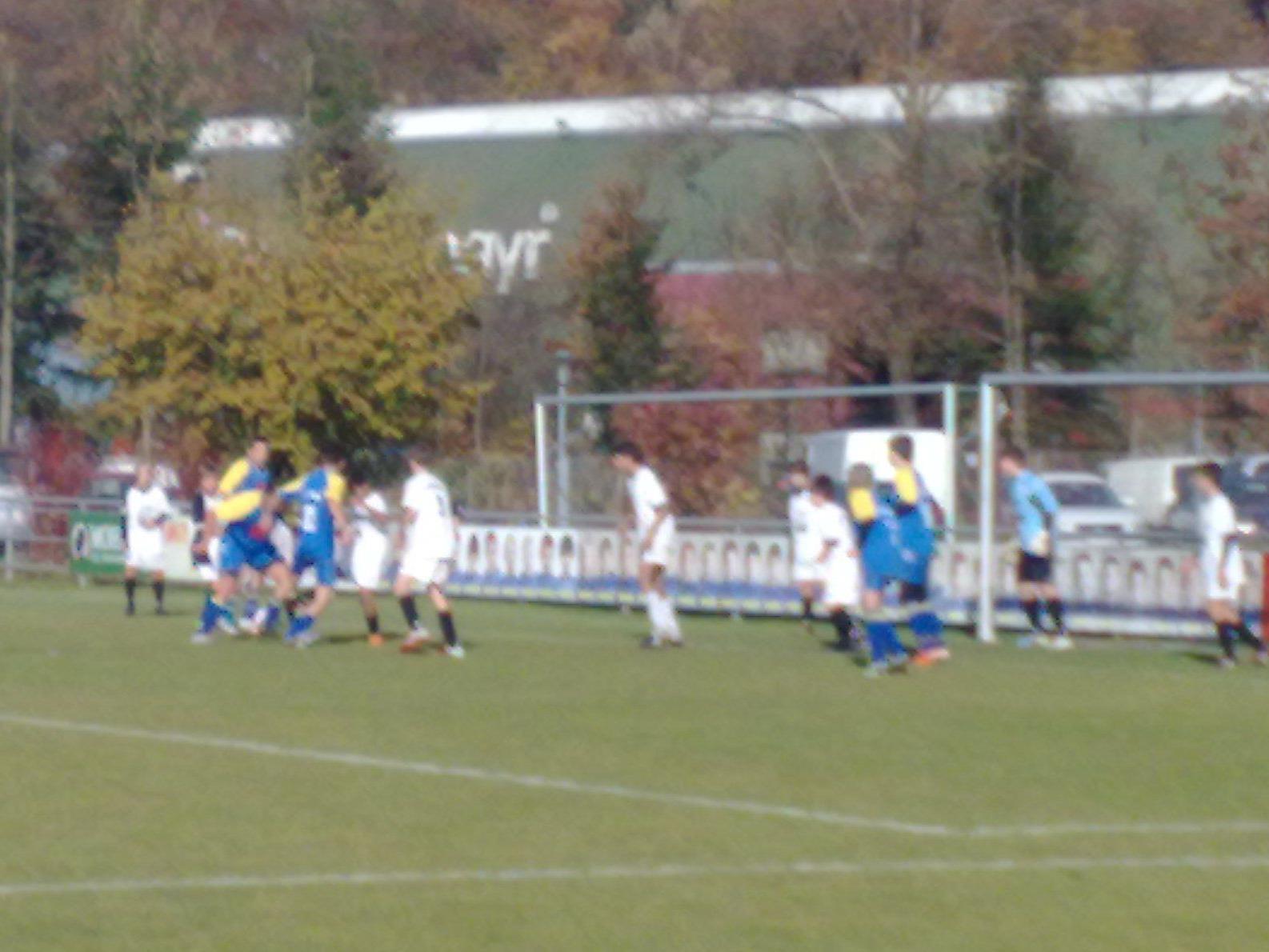 In der zweiten Spielhälfte gerieten die Schwarzacher zusehends unter Druck.