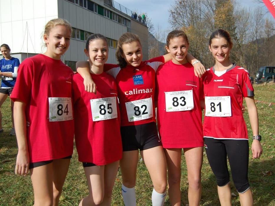 In Tschagguns fanden die rund 250 Teilnehmer ideale Bedingungen zum Cross Country Laufen vor.