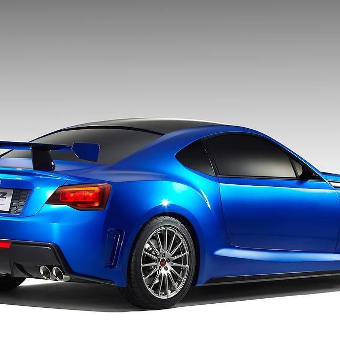Subaru BRZ: Neues Conceptcar im STI-Kostüm
