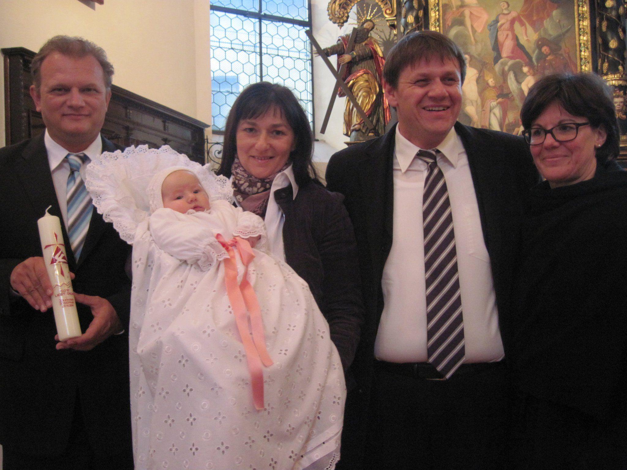 Johanna Josepha wurde in der Dreifalitgkeitskirche getauft