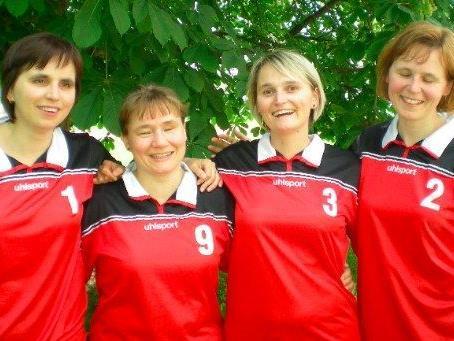Die erfolgreichen Torballerinnen aus Vorarlberg