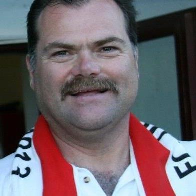 Günther Stoß ist 20 Jahre Platzsprecher in Dornbirn.