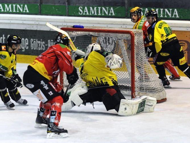 Die VEU Feldkirch musste sich in der Vorarlberghalle geschlagen geben