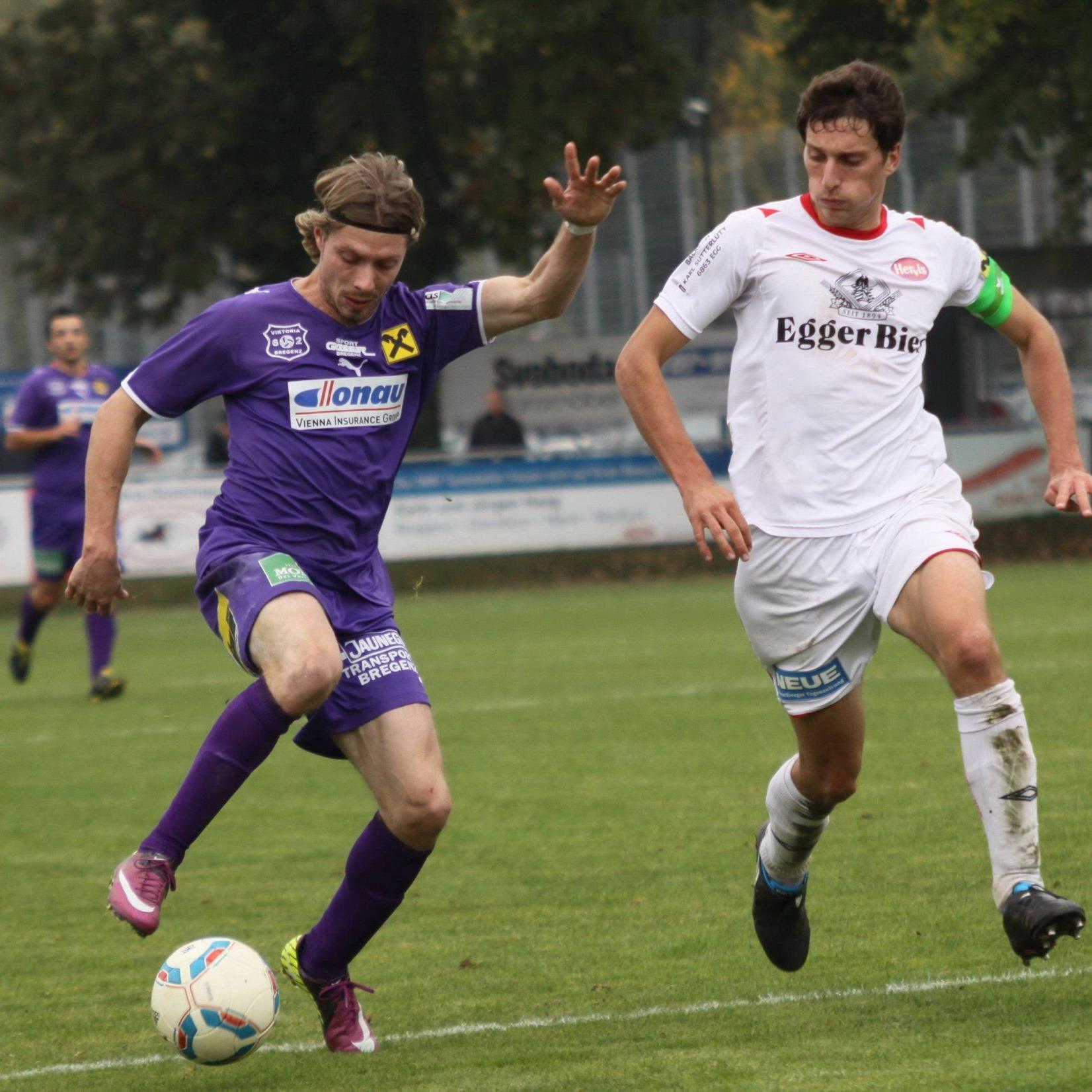 Fast fünf Jahre bleibt Sem Kloser FC Lauterach treu.