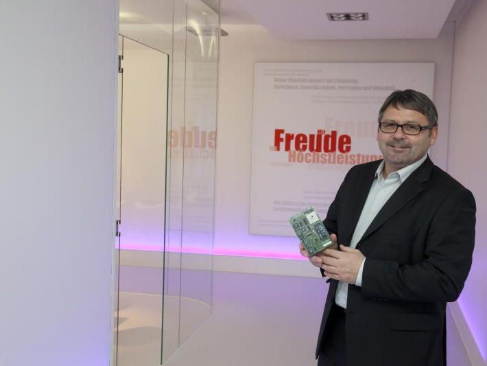 Mit Freude Höchstleistungen erbringen, heißt das Credo von Geschäftsführer Dietmar Alge und seinem Team.