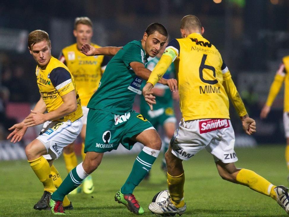 """Mit 2:0 setzte die Austria sich im """"Sticker-Derby"""" gegen den FC durch."""
