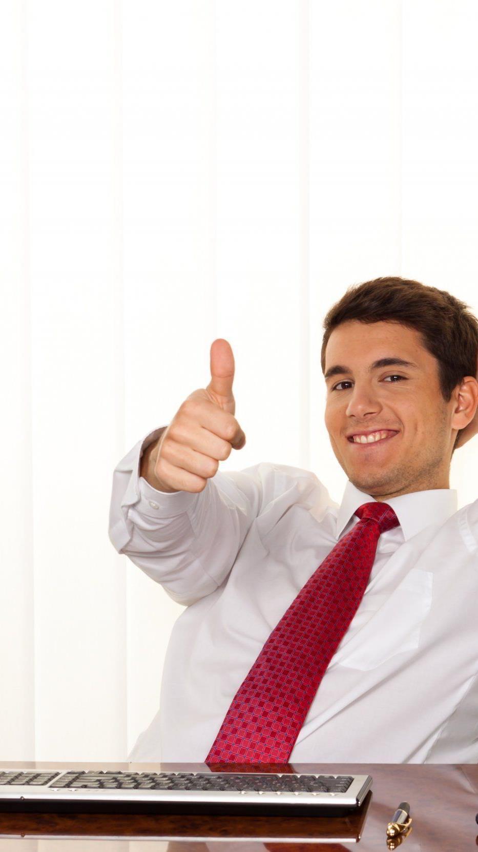 In der Finanzbranche arbeiten die glücklichsten Mitarbeiter.