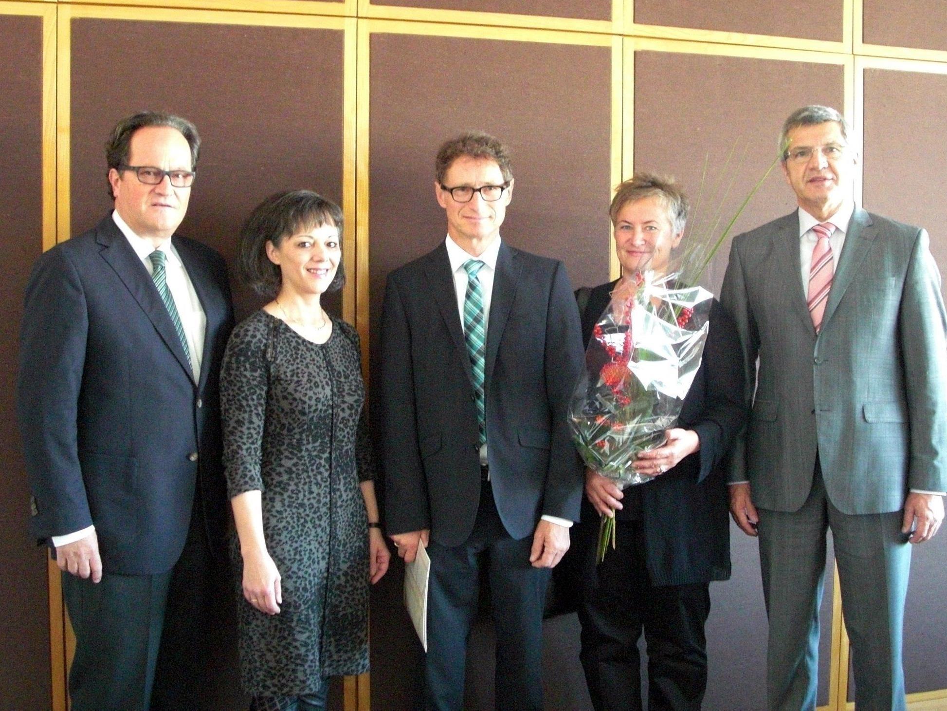 LR Stemer überreichte Ernennungsdekret an Johann Duregger