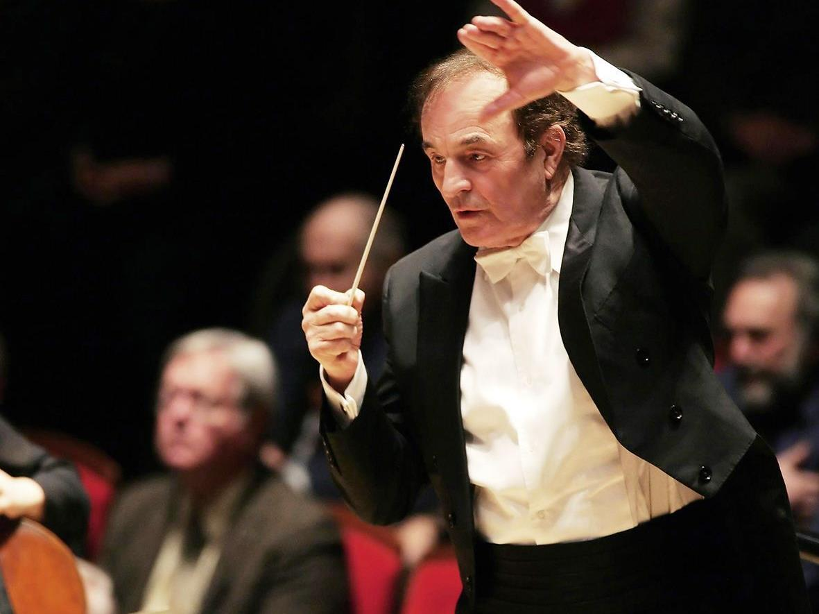 Maestro Charles Dutoit in Aktion.