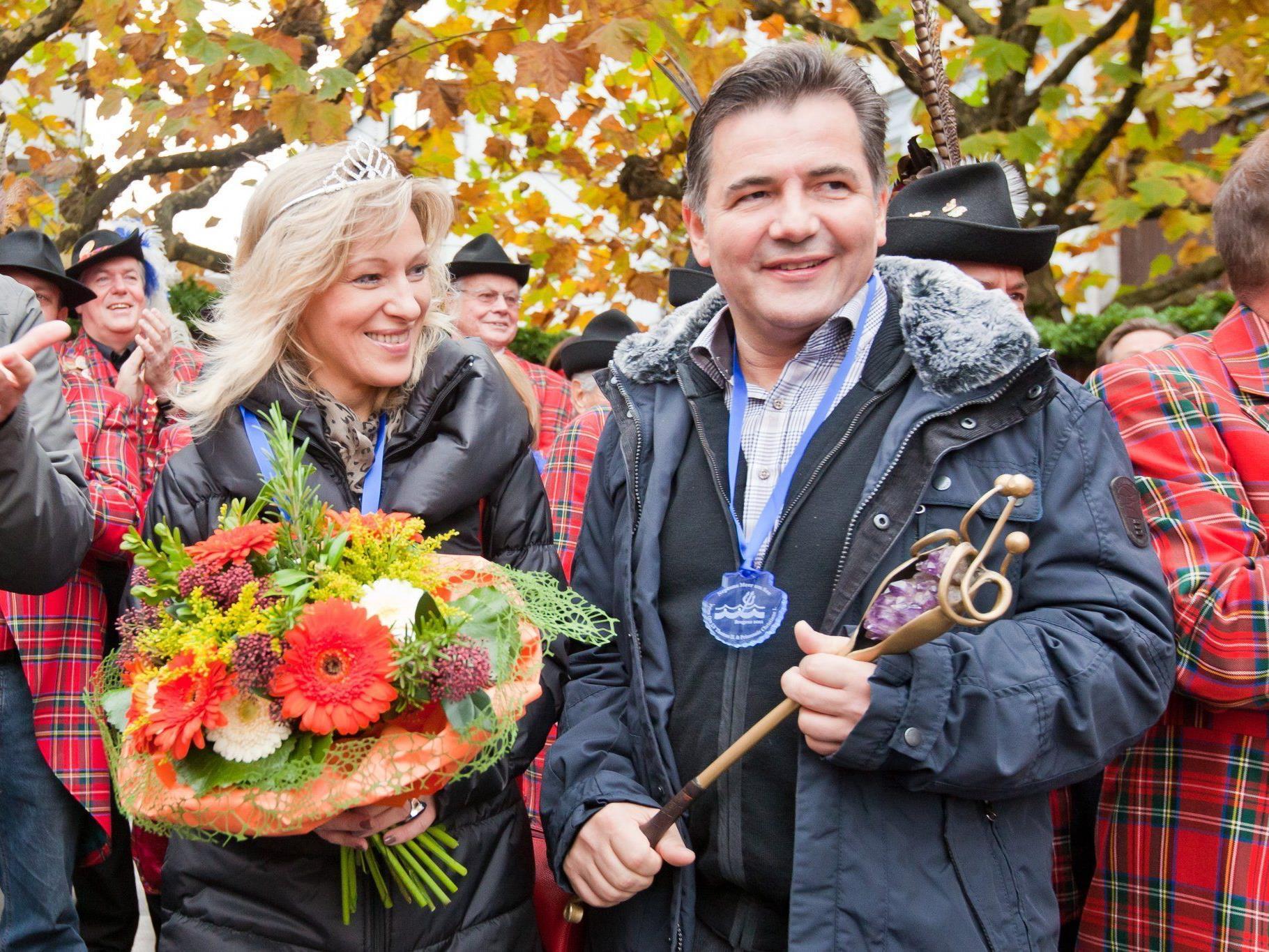Neues Prinzenpaar in Bregenz