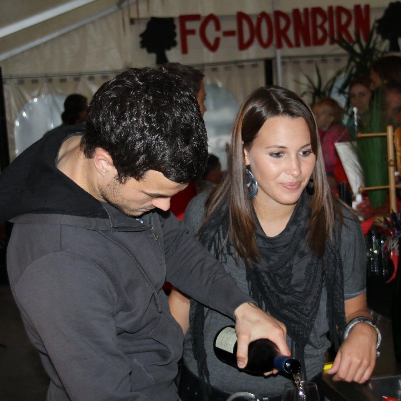 FC Mohren Dornbirn auch heuer auf dem Martinimarkt.