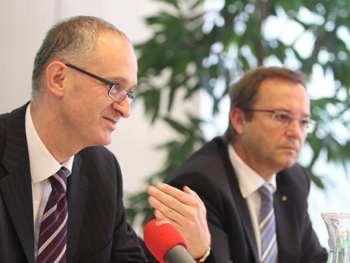 Mag. Wolfgang Pinner (ERSTE Sparinvest), Werner Böhler, Vorarlberger Sparkassen