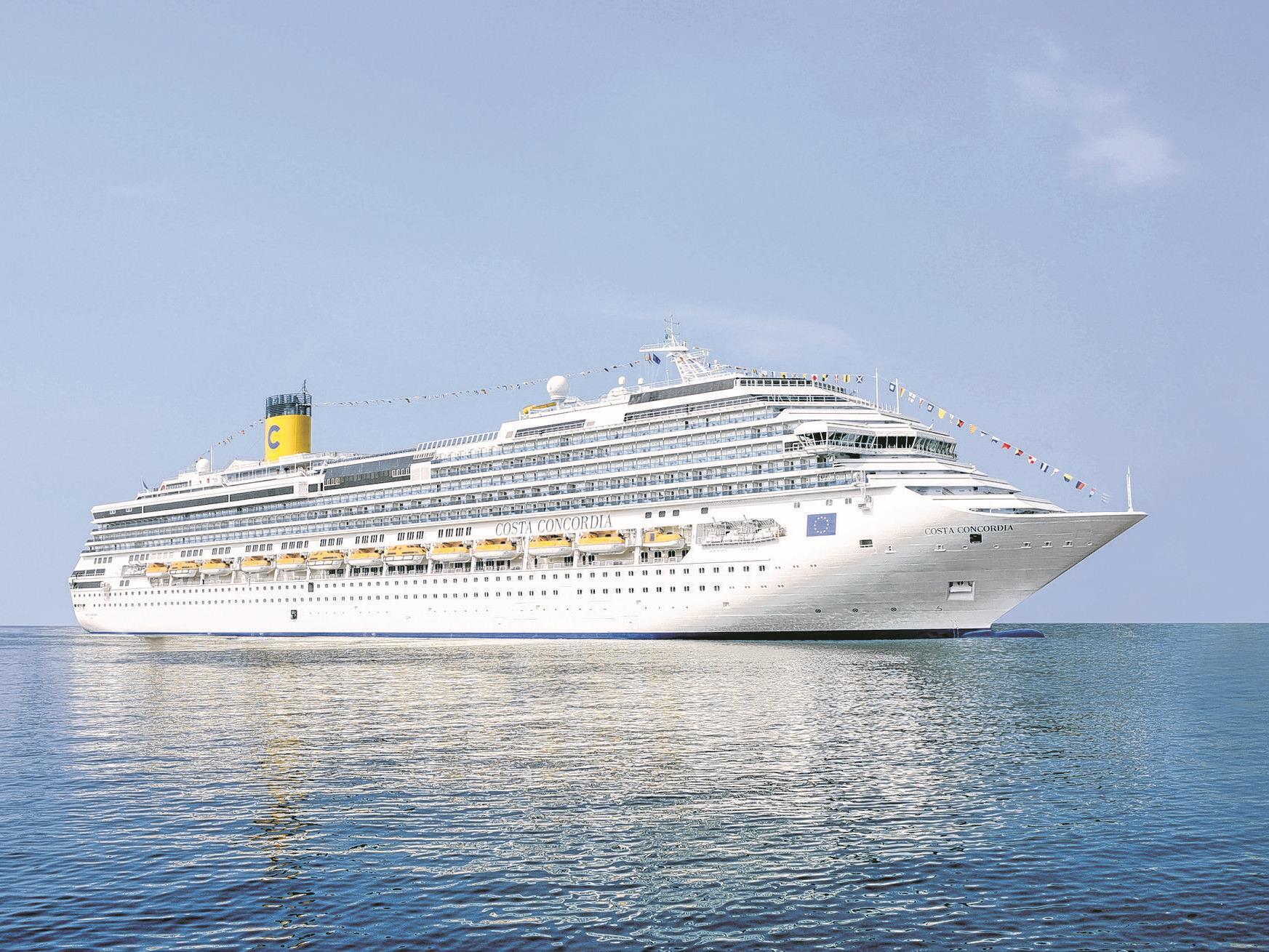 Mit der Costa Concordia durchs westliche Mittelmeer