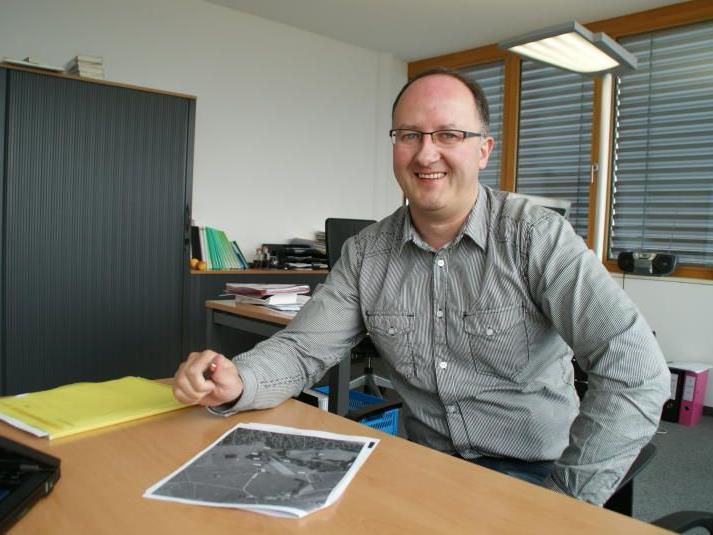 Für Josef Erath ist Andelsbuch ein idealer Standort.