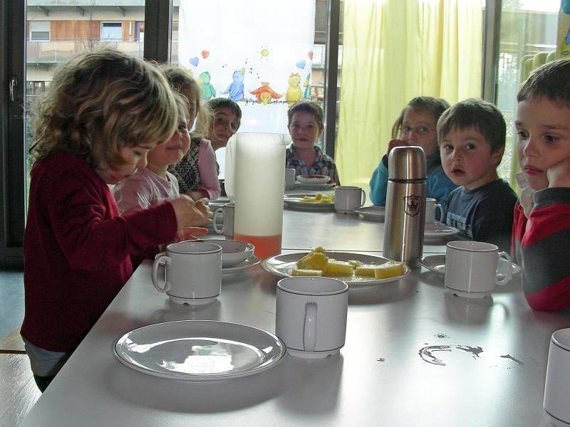 Außer der gemeinsamen Jause wird ab Herbst auch ein gemeinsames Mittagessen angeboten.