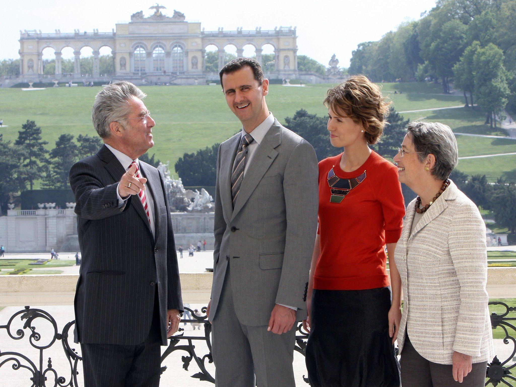 Angebelich lagern in Österreich Millionen von Assads schmutzigen Geldern.