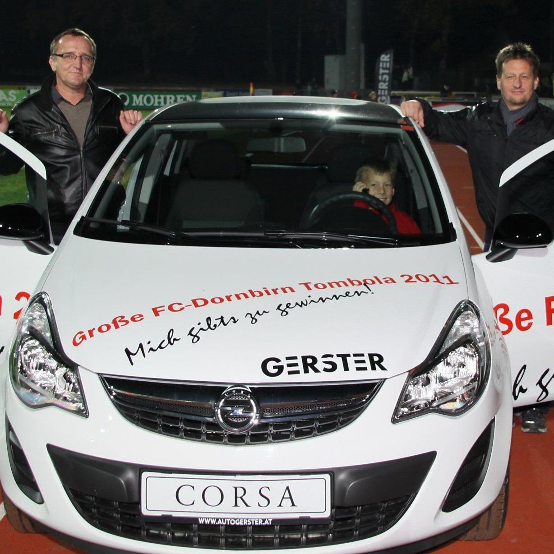 Bernhard Gunz gewann einen neuen Opel Corsa.