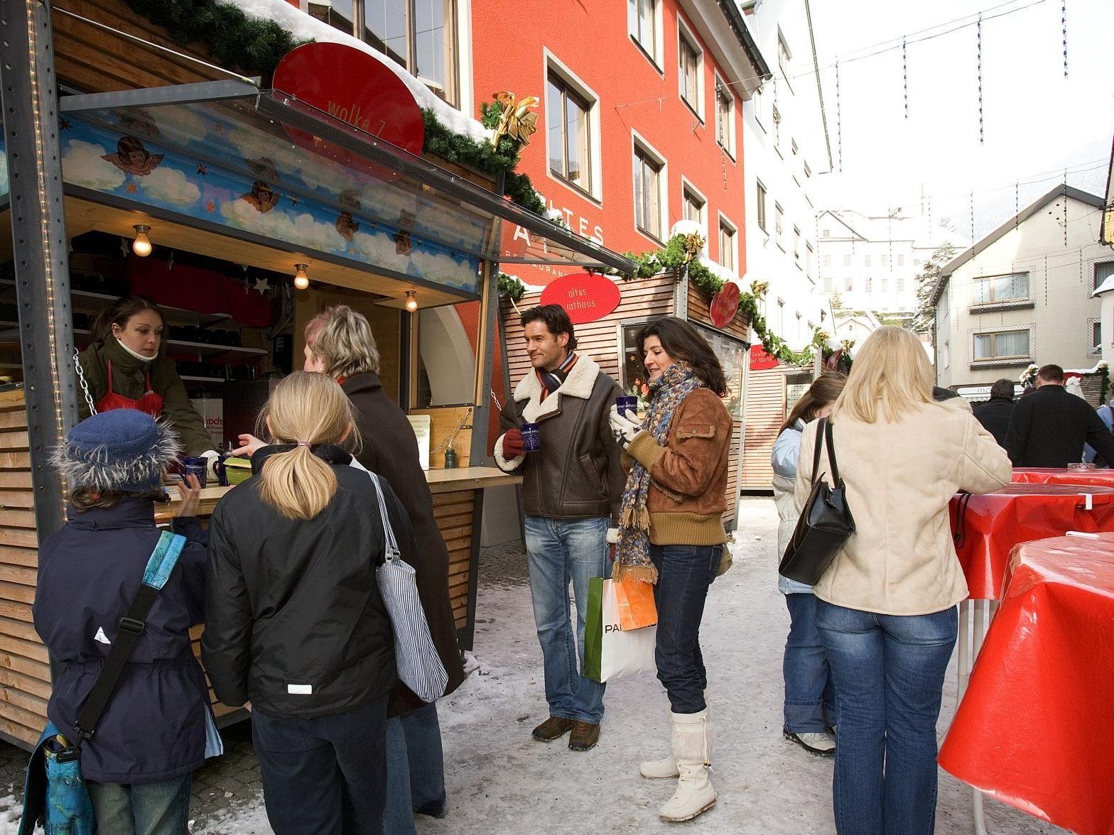 Zahlreiche Veranstaltungen finden im Rahmen  des Bludenzer Christkindlemarktes statt.