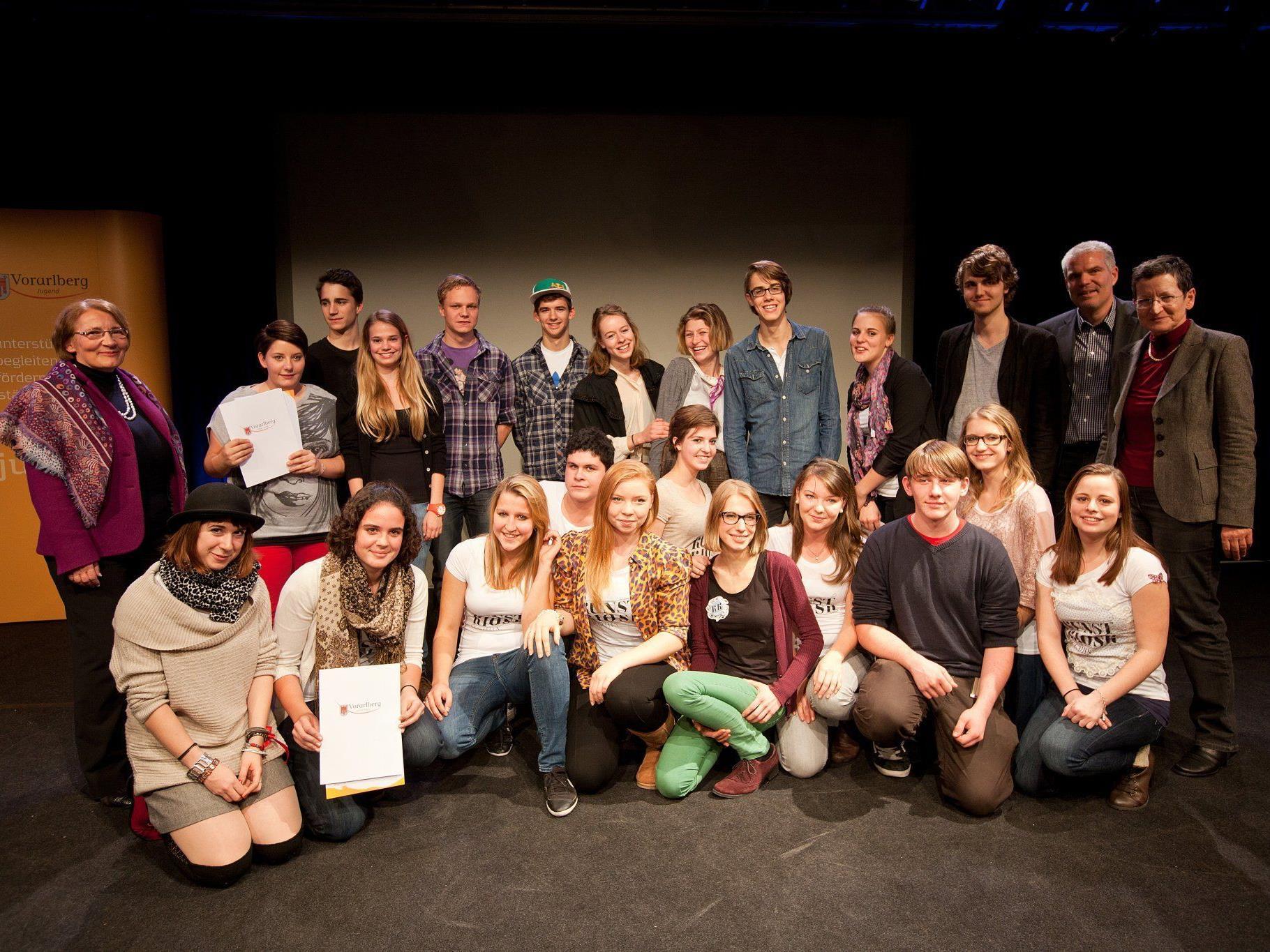 Interregionales Finale des Jugendprojektwettbewerbs 2011