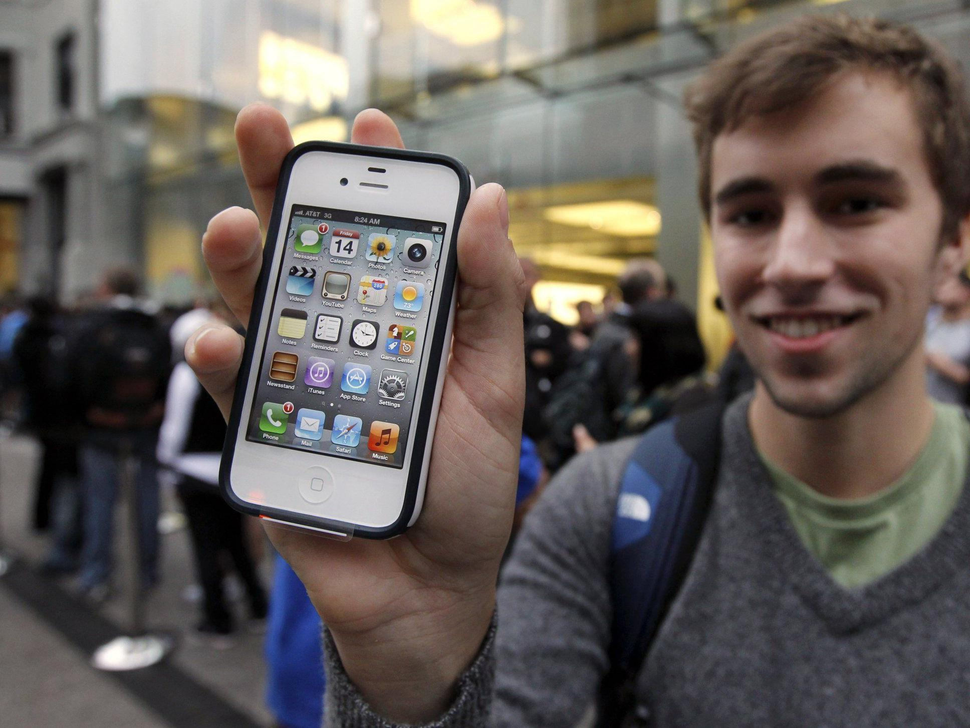 """iPhone 4S: """"Wir haben einige Fehler gefunden"""""""
