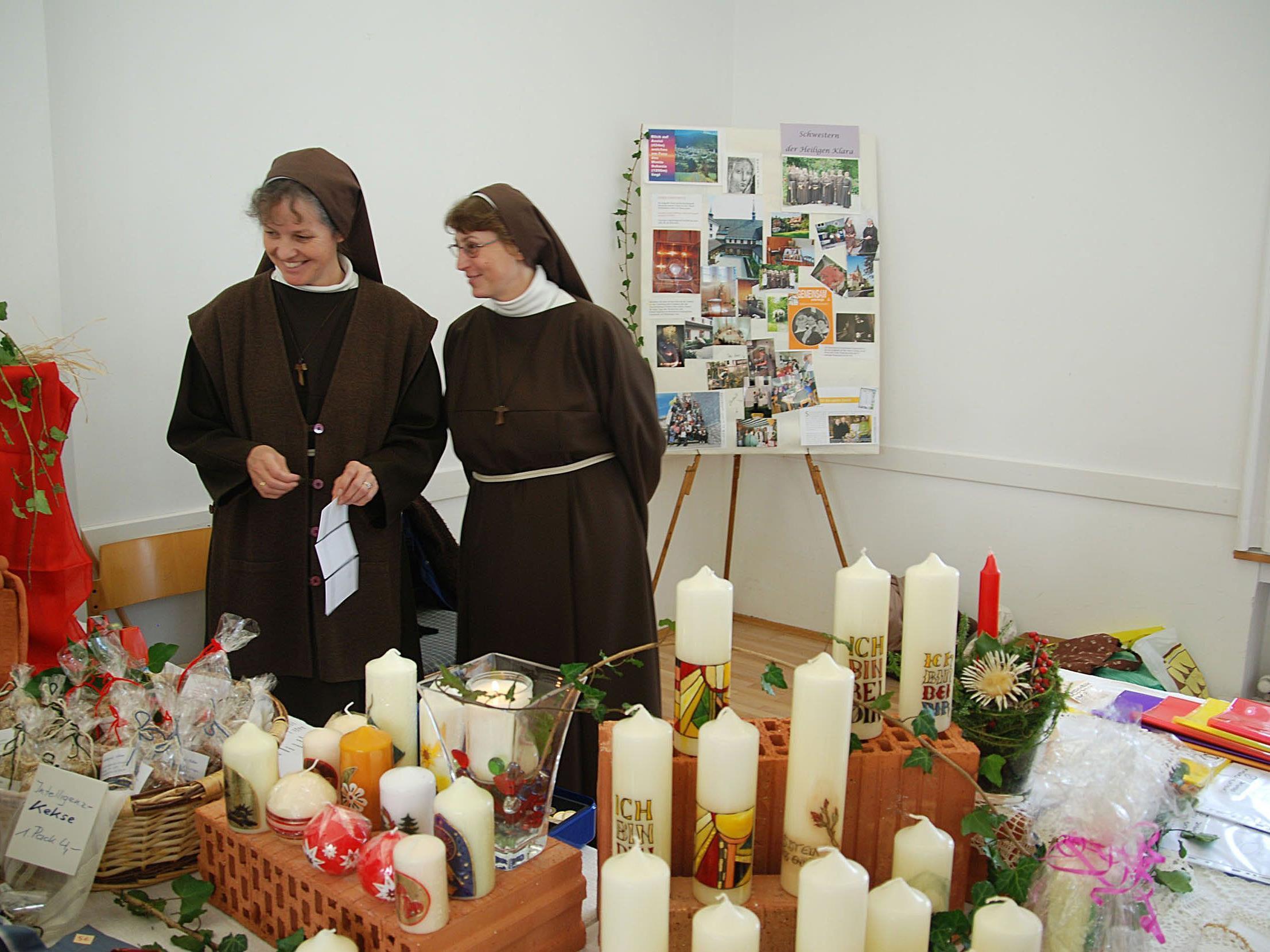 Kommenden Samstag öffnet wieder das Klostermärktle im Pfarrheim St. Gallus.