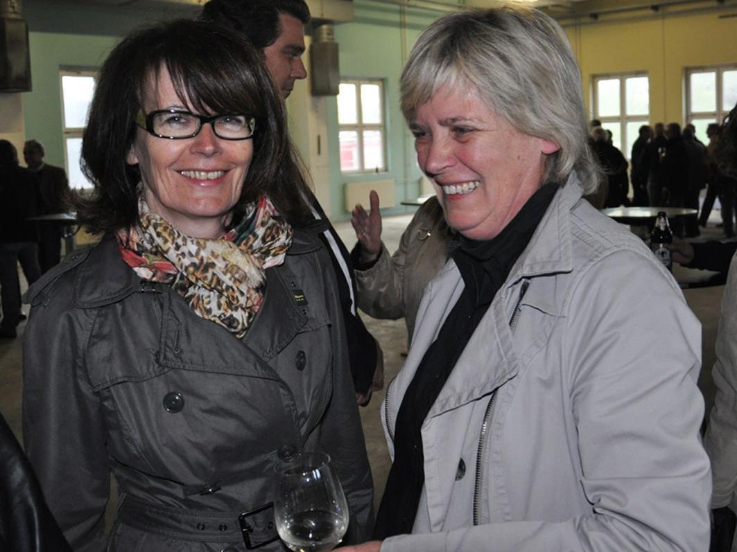 Eva-Maria Mair und Andrea Romagna-Mießgang luden als Sport- und Kulturreferentinnen.