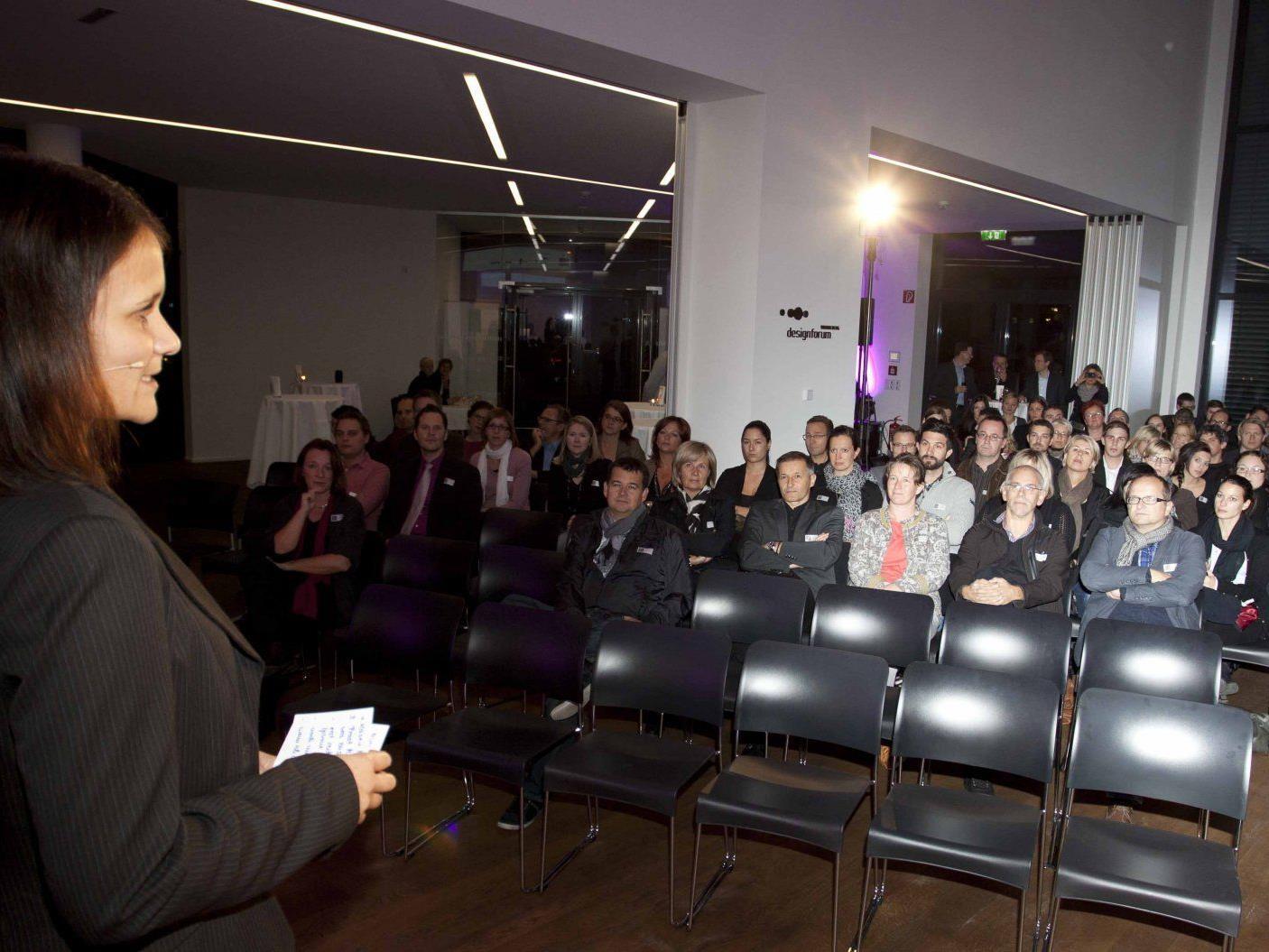 Moderatorin Hannah Krause führte durch den Abend.