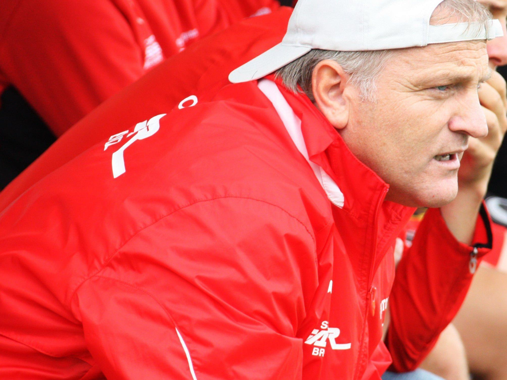 Dornbirn-Trainer Peter Sallmayer kann mit dem Herbstdurchgang mehr als zufrieden sein.