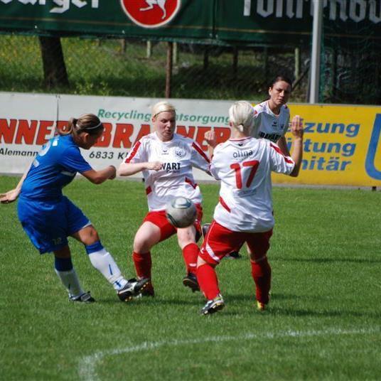 Rankweiler Damen siegten mit 9:1-Toren in Bregenz.