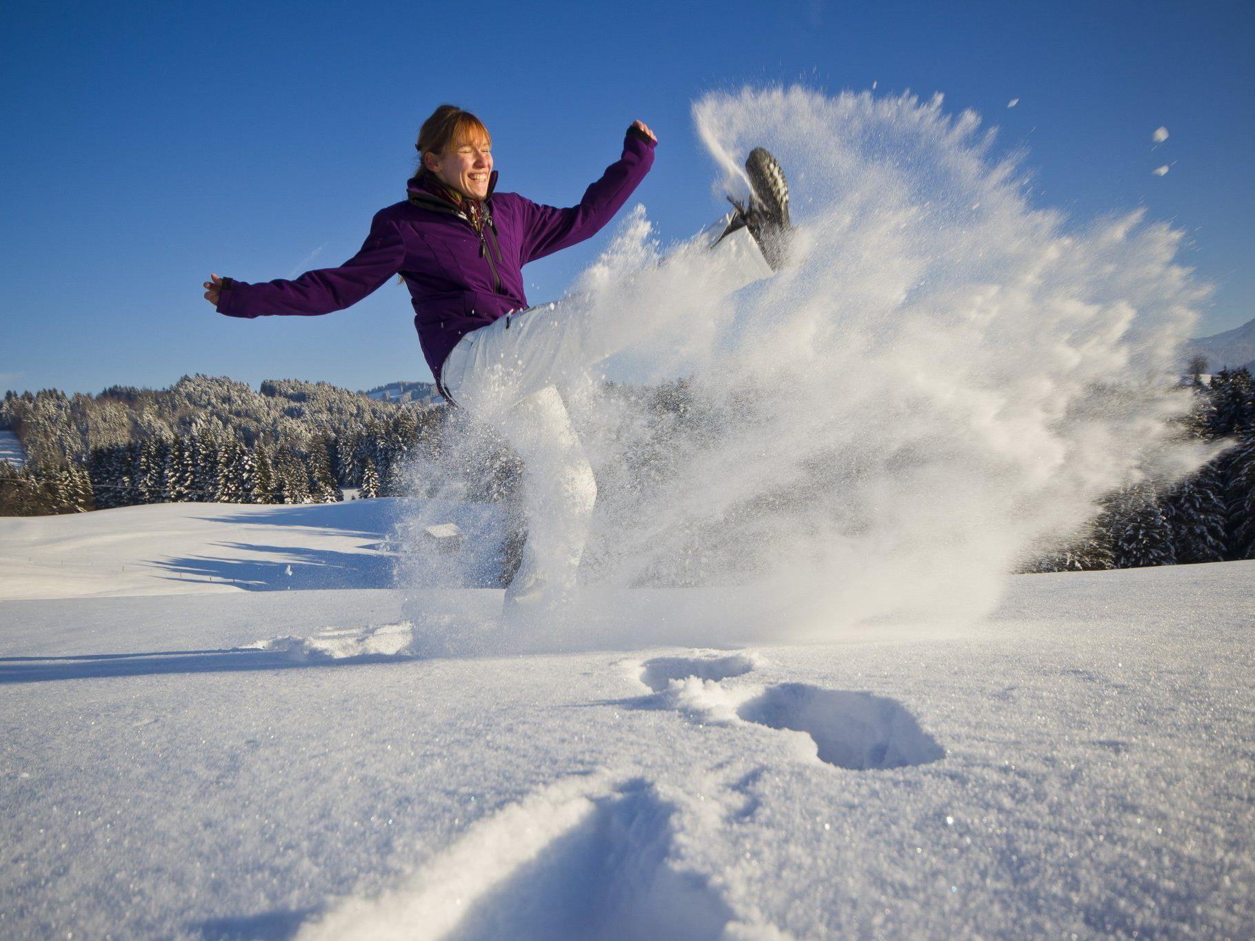 Die Wintersportgebiete hoffen auf Schneefall.